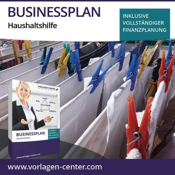 Businessplan-Paket Haushaltshilfe