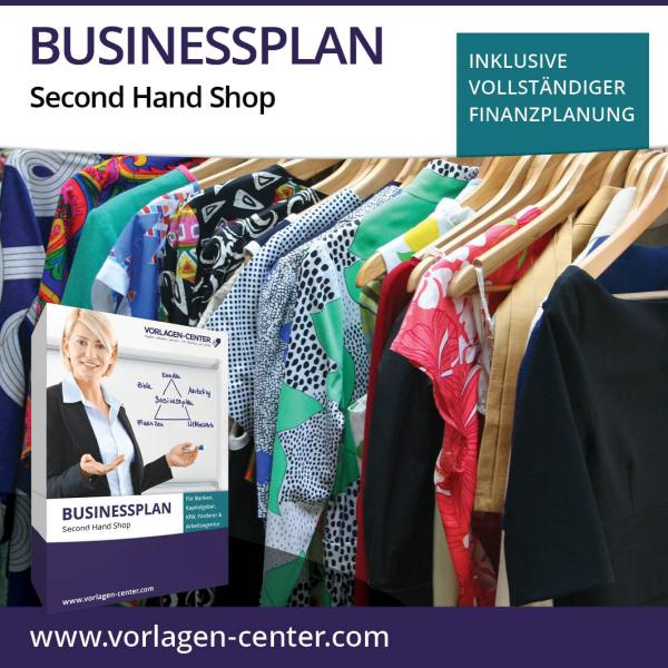 Businessplan-Paket Second Hand Shop