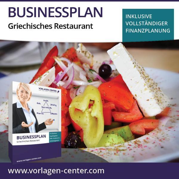 Businessplan-Paket Griechisches Restaurant