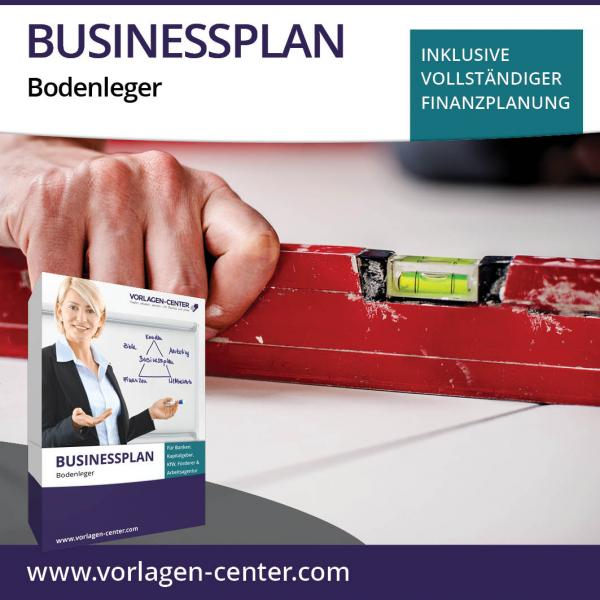 Businessplan-Paket Bodenleger