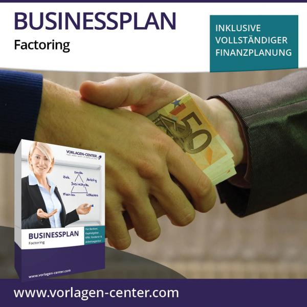 Businessplan-Paket Factoring