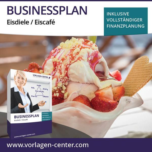 Businessplan-Paket Eisdiele / Eiscafé