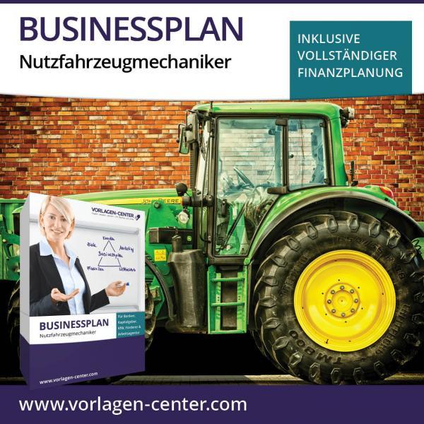 Businessplan-Paket Nutzfahrzeugmechaniker