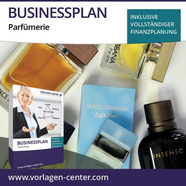 Businessplan-Paket Parfümerie