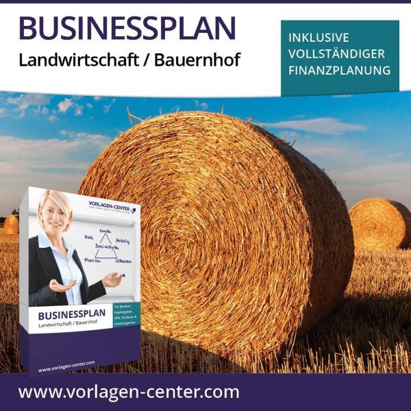 Businessplan-Paket Landwirtschaft / Bauernhof