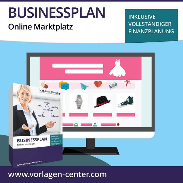 Businessplan-Paket Online Marktplatz