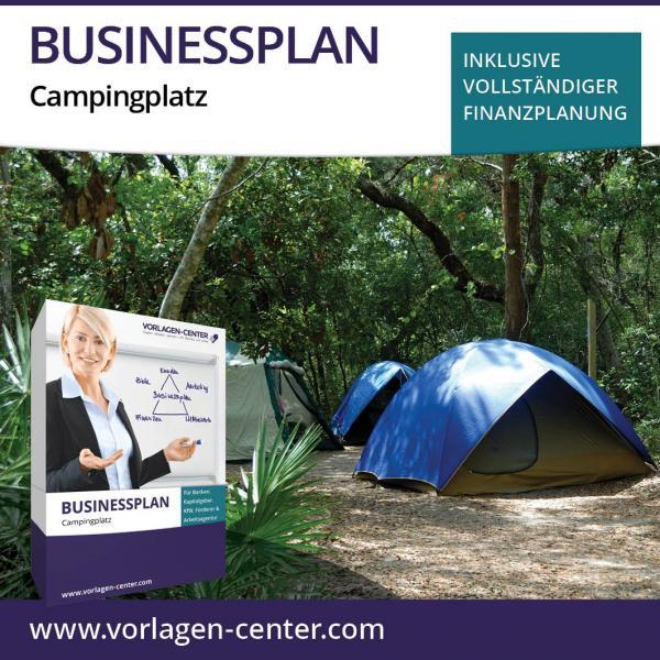 Businessplan-Paket Campingplatz