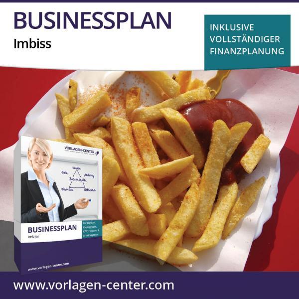 Businessplan-Paket Imbiss