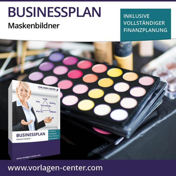 Businessplan-Paket Maskenbildner