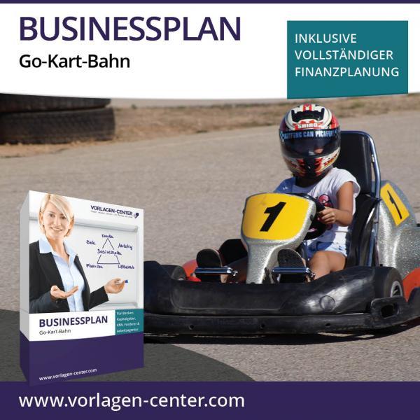 Businessplan-Paket Go-Kart-Bahn