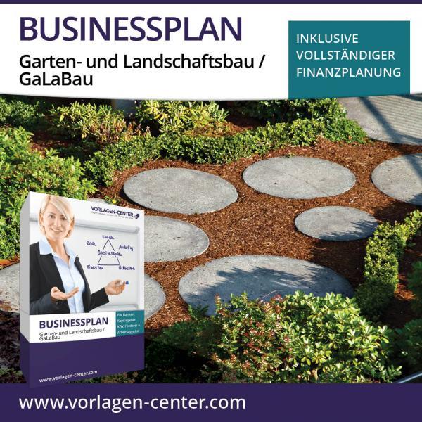 Businessplan Garten- und Landschaftsbau / GaLaBau
