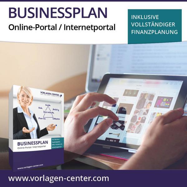 Businessplan-Paket Online-Portal / Internetportal