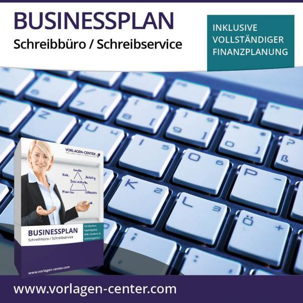 Businessplan-Paket Schreibbüro / Schreibservice