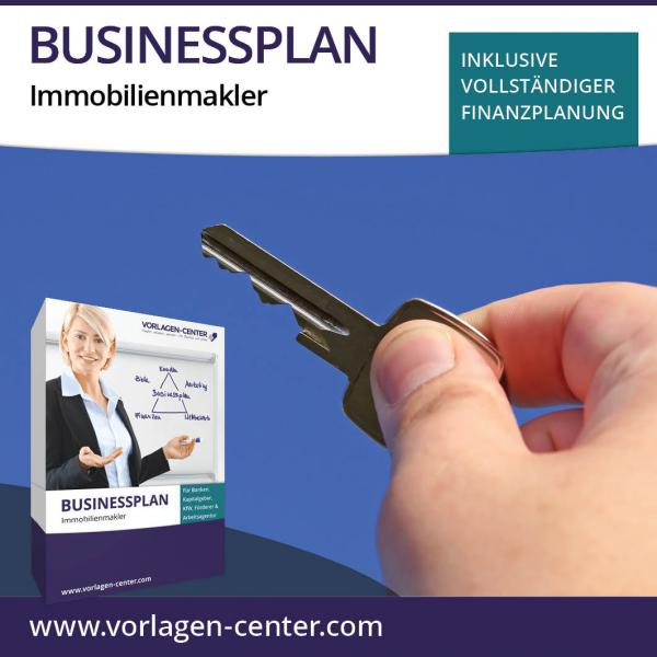 Businessplan-Paket Immobilienmakler