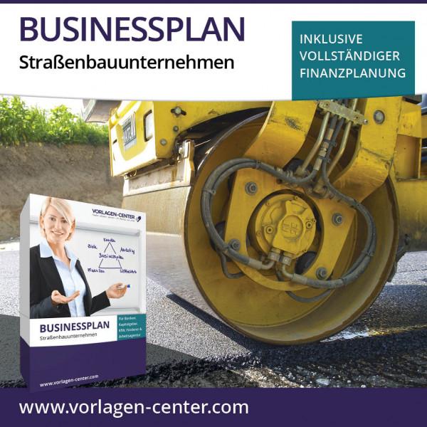 Businessplan-Paket Straßenbauunternehmen