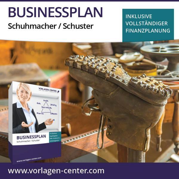 Businessplan-Paket Schuhmacher / Schusterei