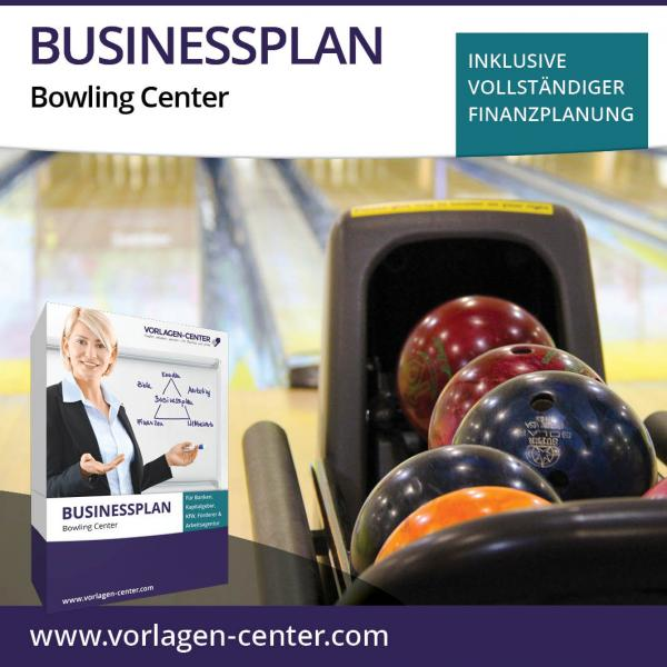 Businessplan-Paket Bowling Center