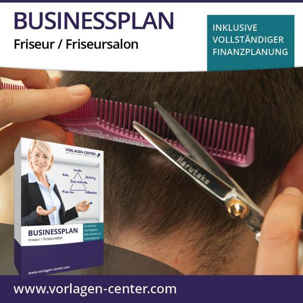Businessplan-Paket Friseur / Friseursalon