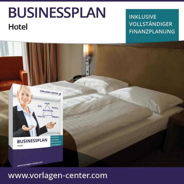 Businessplan-Paket Hotel
