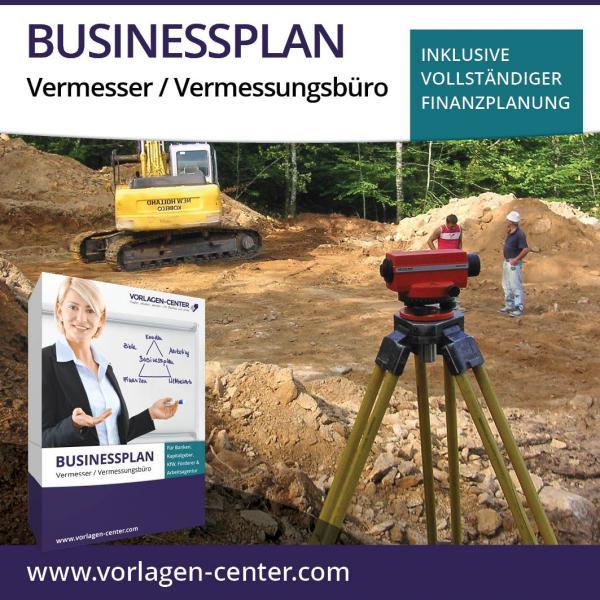 Businessplan-Paket Vermesser / Vermessungsbüro