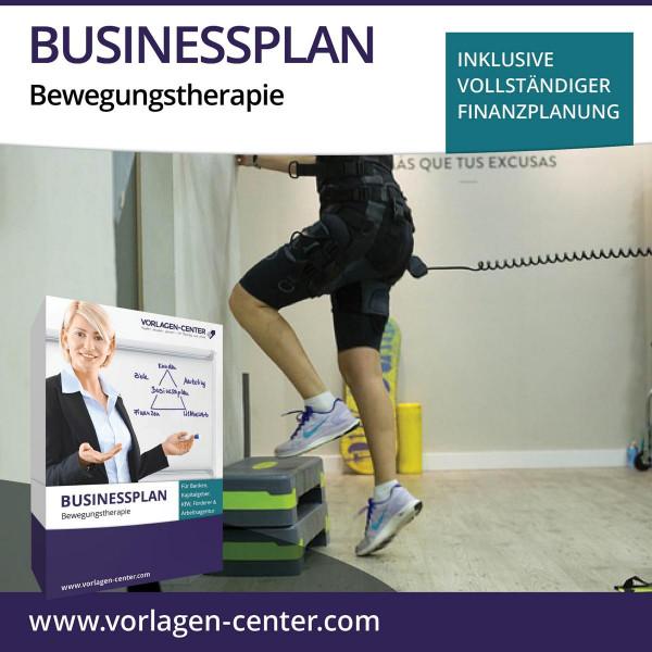 Businessplan-Paket Bewegungstherapie