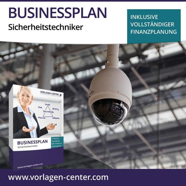 Businessplan-Paket Sicherheitstechniker