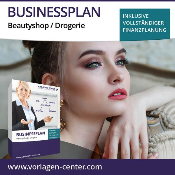 Businessplan-Paket Beautyshop / Drogerie