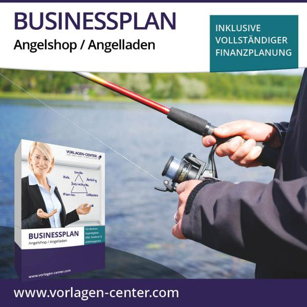 Businessplan-Paket Angelshop / Angelladen