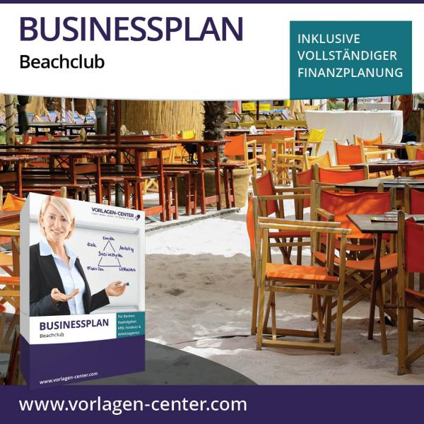 Businessplan-Paket Beachclub