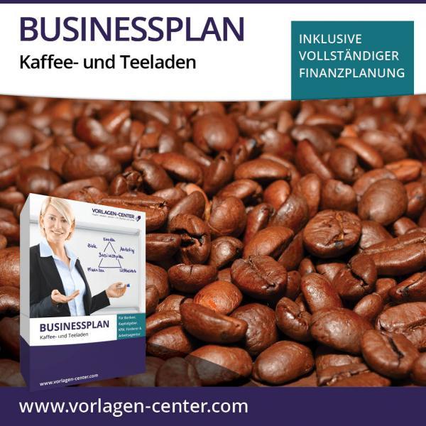 Businessplan-Paket Kaffee- und Teeladen