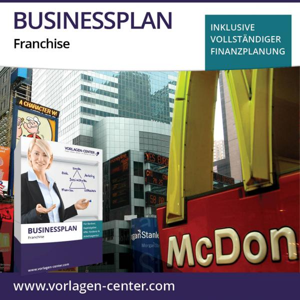 Businessplan-Paket Franchise