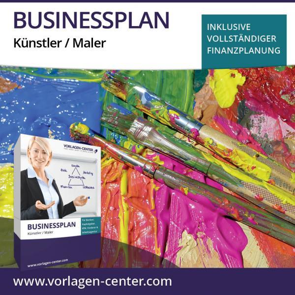 Businessplan-Paket Künstler / Maler