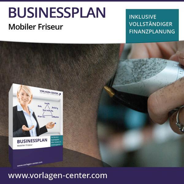 Businessplan-Paket Mobiler Friseur