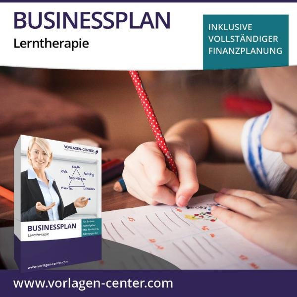 Businessplan-Paket Lerntherapie