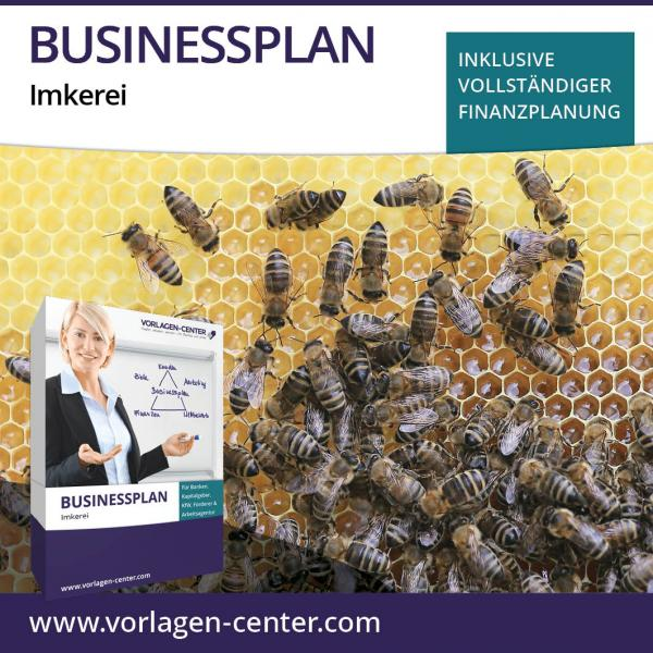 Businessplan-Paket Imkerei