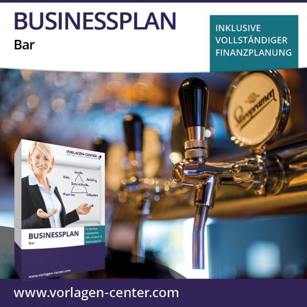 Businessplan-Paket Bar