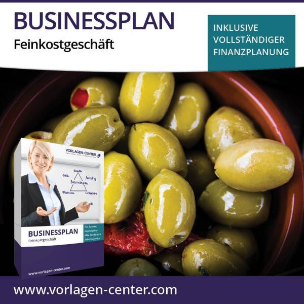 Businessplan-Paket Feinkostgeschäft