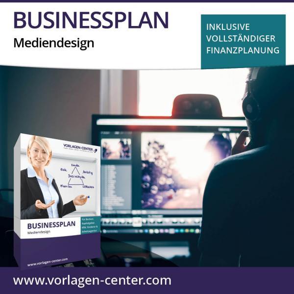 Businessplan-Paket Mediendesign