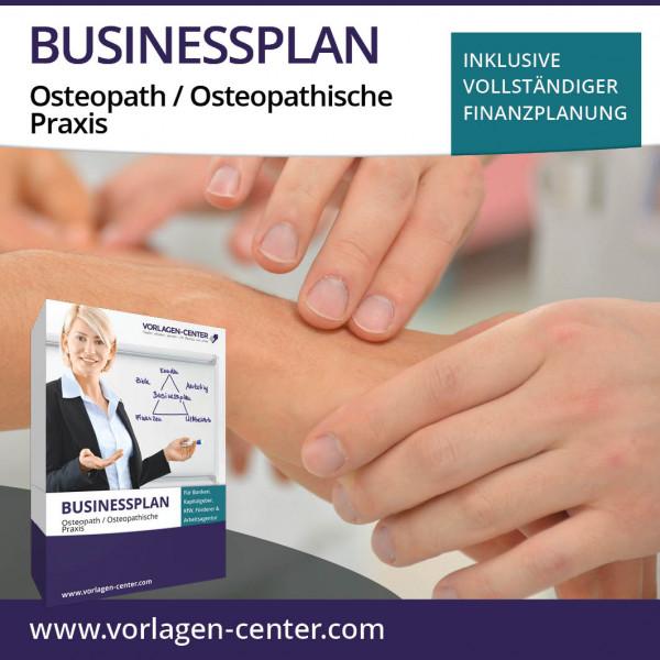 Businessplan-Paket Osteopath / Osteopathische Praxis