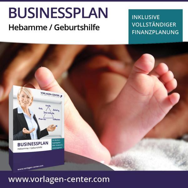 Businessplan-Paket Hebamme / Geburtshilfe