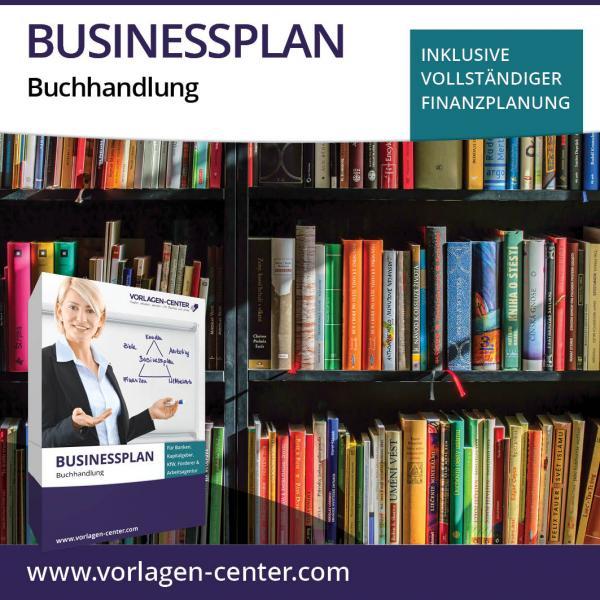Businessplan-Paket Buchhandlung