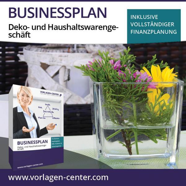Businessplan Deko- und Haushaltswarengeschäft