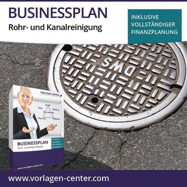 Businessplan-Paket Rohr- und Kanalreinigung