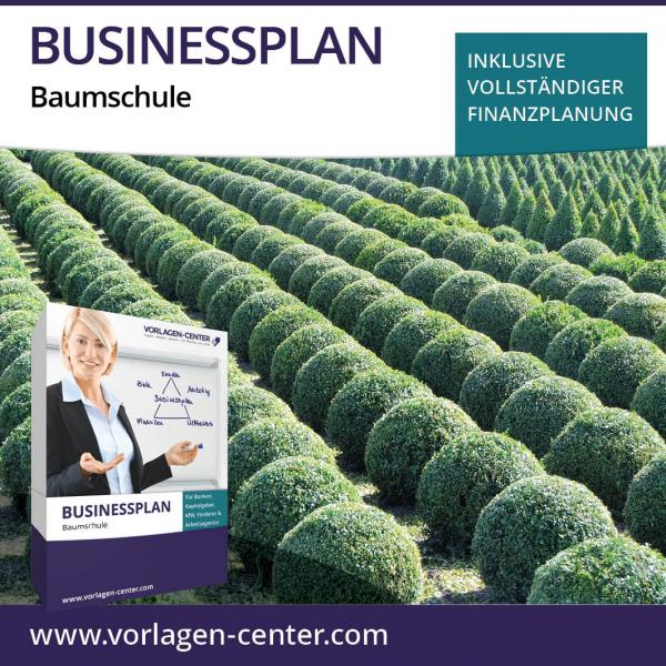 Businessplan Baumschule