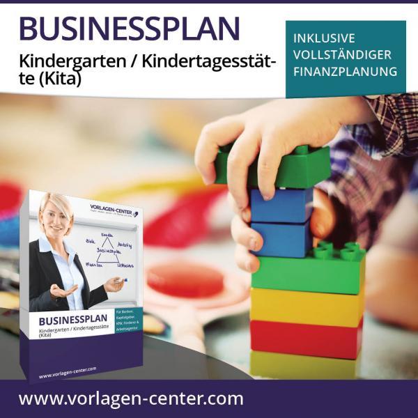 Businessplan-Paket Kindergarten / Kindertagesstätte (Kita)