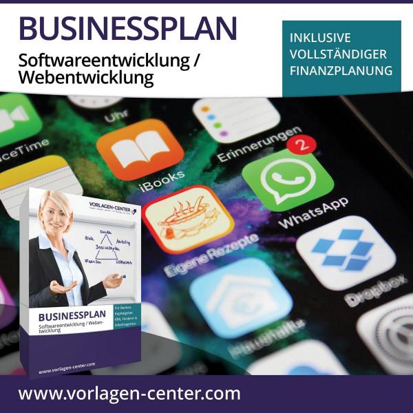 Businessplan-Paket Softwareentwicklung / Webentwicklung