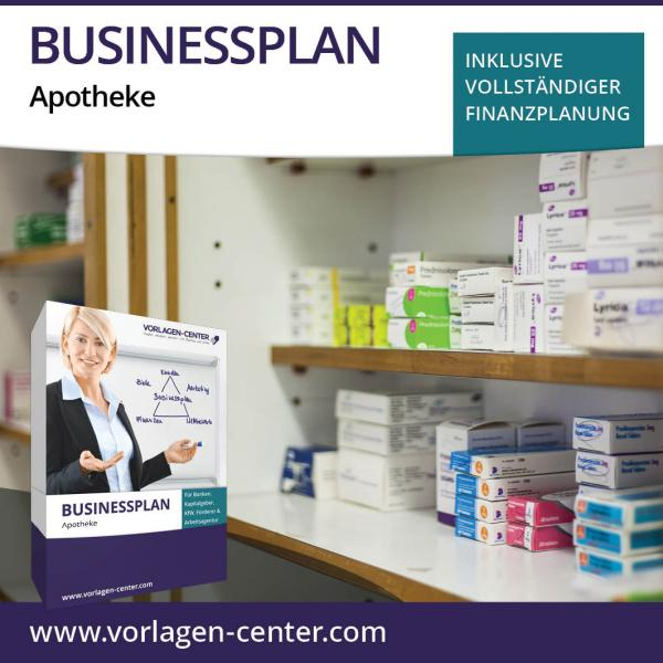 Businessplan-Paket Apotheke