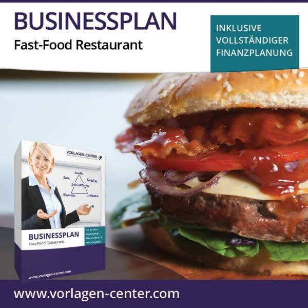 Businessplan-Paket Fast-Food Restaurant