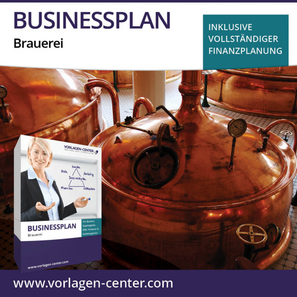 Businessplan-Paket Brauerei