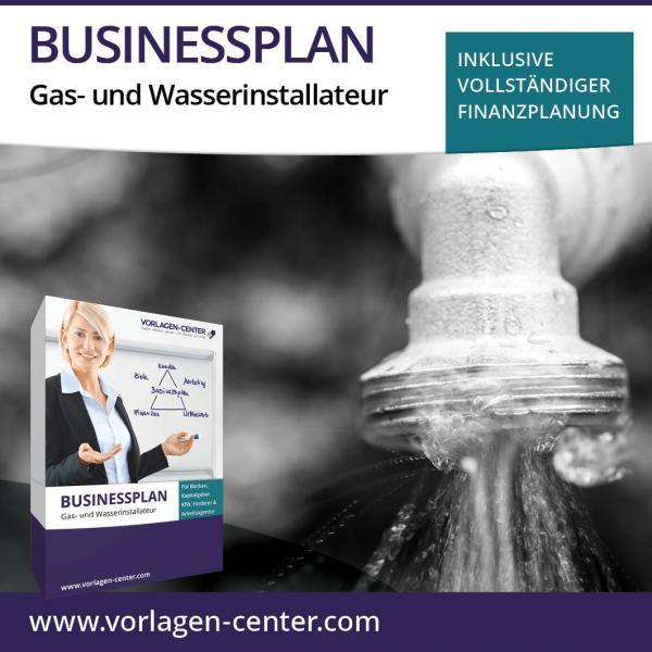 Businessplan-Paket Gas- und Wasserinstallateur